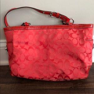 COPY - Coach red handbag